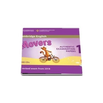 Cambridge English Movers 1 for Revised Exam from 2018 Audio CD - Authentic Examination Papers from Cambridge English Language Assessment