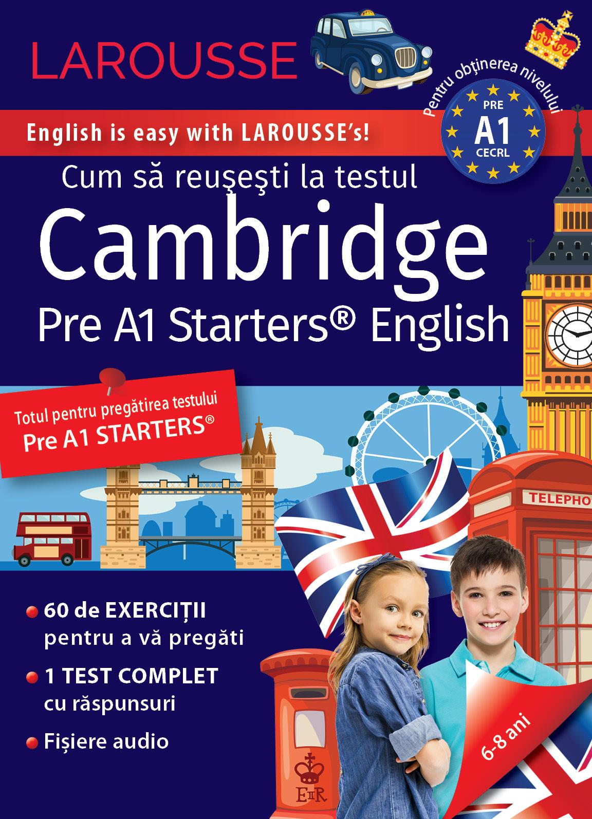 Cambridge Pre A1 Starters Test