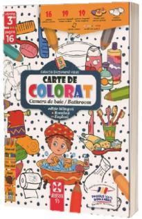 Camera de baie/bathroom, carte de colorat