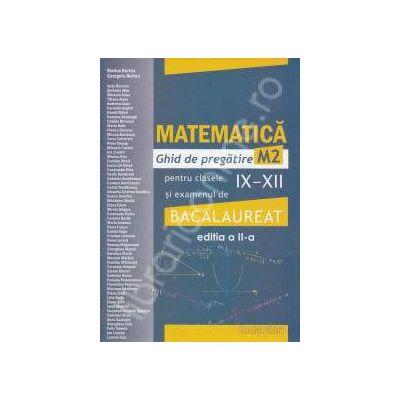 Bacalaureat 2012 Matematica M2 (Ghid de pregatire pentru Bucuresti)