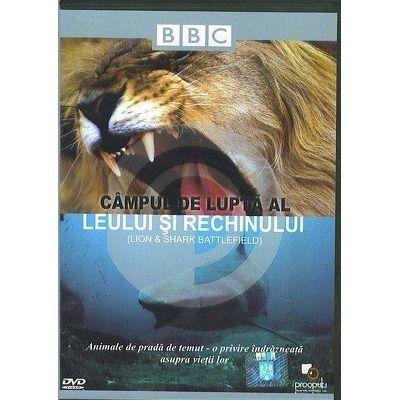 Campul de lupta al leului si rechinului. DVD