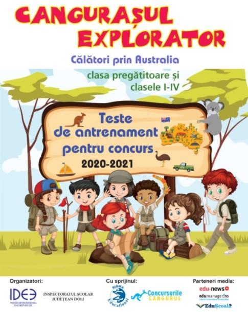 Cangurasul Explorator, clasa pregatitoare si clasele I-IV