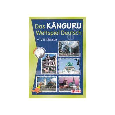 Cangurul Lingvist, sectiunea germana. Das Kanguru - Wettspiel Deutsch V-VIII Klassen