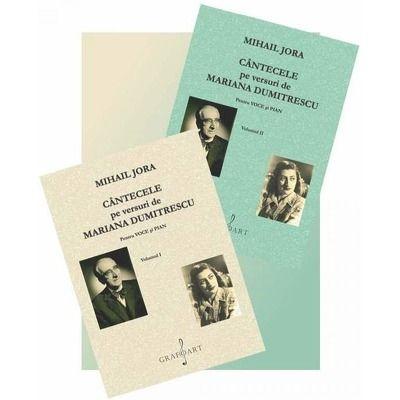 Cantecele pe versuri de Mariana Dumitrescu, 2 volume