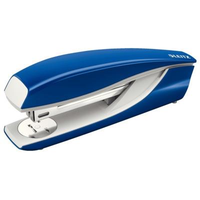 Capsator de birou, metalic, 40 coli, albastru, Leitz
