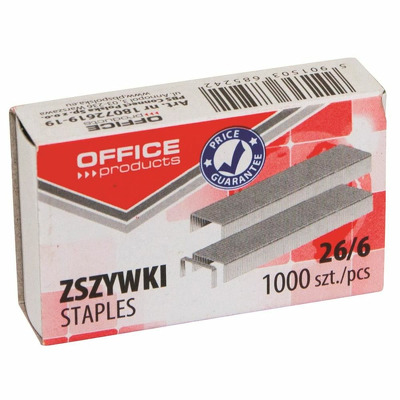 Capse 26/6, 1000/cut, Office Products