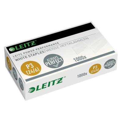 Capse tip 24/6, albe, 1000/cutie - Leitz