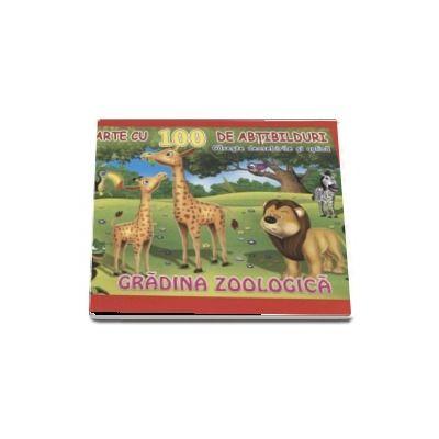 Carte cu 100 de abtibilduri. Gradina zoologica