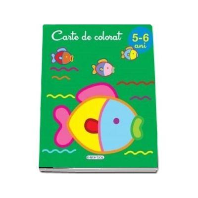 Carte de colorat 5-6 ani