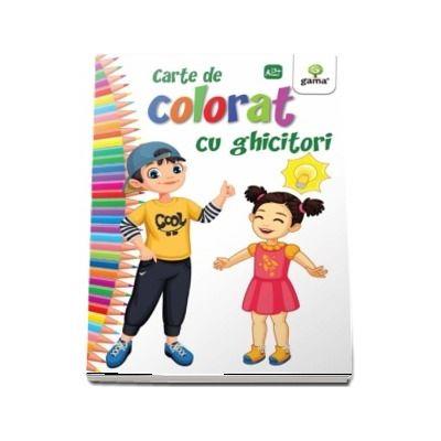 Carte de colorat cu ghicitori - Editia 2018