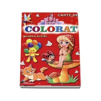 Carte de colorat. Pentru fetite