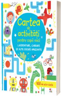 Cartea de activitati pentru copii mici. Labirinturi, careuri si alte jocuri amuzante