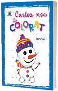 Cartea mea de colorat. Iarna