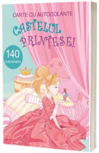 Castelul printesei, carte cu atocolante - 140 autocolante