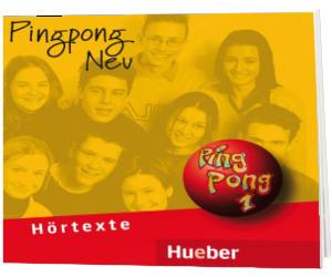 CDs. Limba germana, clasa a V-a, L2. Pingpong Neu 1 (2 Audio-CDs zum Lehrbuch)