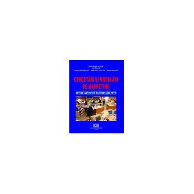 Cercetari si modelari de marketing - Metode cantitative in cercetarea pietei