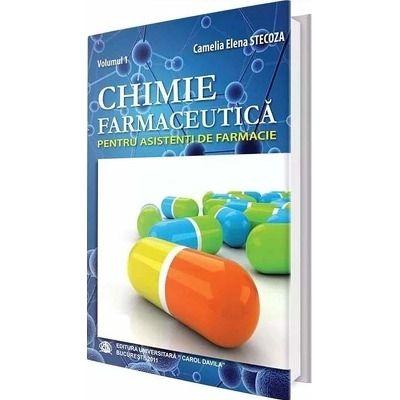 Chimie farmaceutica pentru asistenti de farmacie. Volumul I