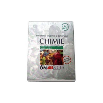 Chimie. Manual pentru clasa a IX-a (Andruh)