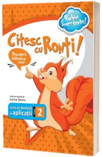 Citesc cu Ronti - caiet de lectura si aplicatii pentru clasa a II-a