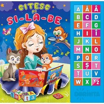 Citesc pe silabe. Carte cu sunete