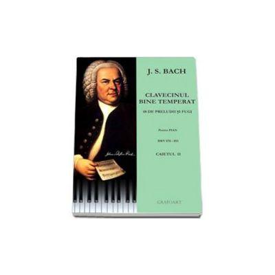 Clavecinul bine temperat. 48 de preludii si fugi pentru pian, BWV 870-893, Caietul 2