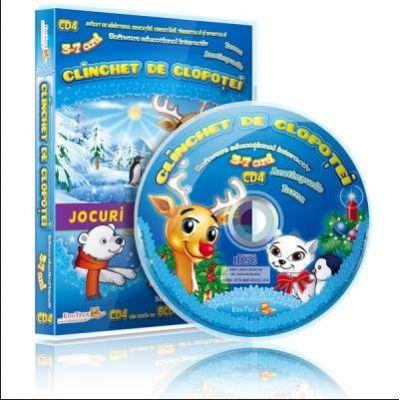 Clinchet de clopotei. Jocuri educationale 3-7 ani, CD 4 (Colectia Eduteca)