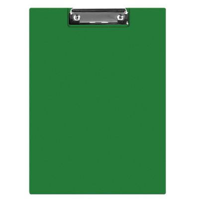 Clipboard dublu A4, plastifiat PVC, Q-Connect - verde