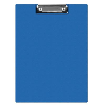 Clipboard dublu A5, plastifiat PVC, Q-Connect - albastru
