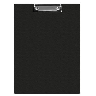 Clipboard dublu A5, plastifiat PVC, Q-Connect - negru