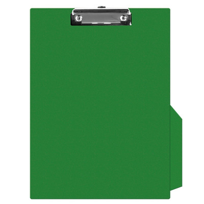 Clipboard simplu A4, plastifiat PVC, Q-Connect - verde