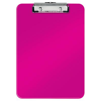 Clipboard simplu Leitz Wow, PS - roz metalizat