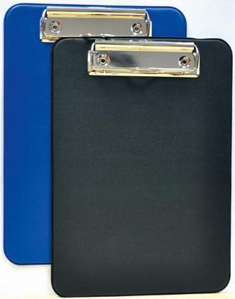 Clipboard simplu A5, plastifiat, ALCO - albastru
