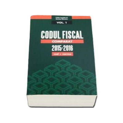 Codul Fiscal Comparat 2015-2016 - 3 Volume (cod+norme)