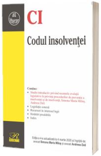 Codul insolventei. Editia a 4-a actualizata la 4 martie 2020