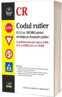 Codul rutier. Editia a IX-a actualizata la 21 septembrie 2020