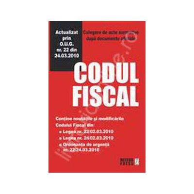 Codul Fiscal 2009/2010 - text comparat - editia a II -a (cu modificarile in vigoare de la 1.07.2010)