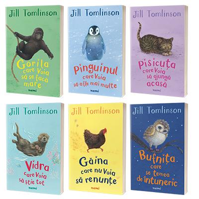 Colectia Povestile preferate cu animale - Jill Tomplinson
