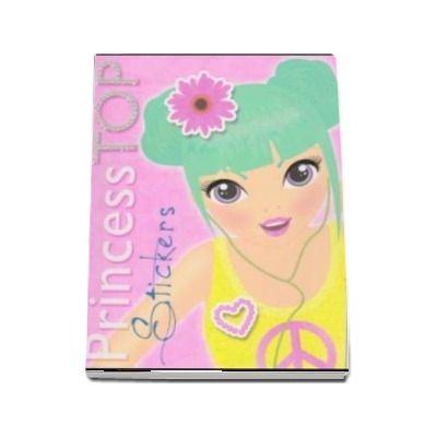 Colectia Princess TOP - Stickers (galben)