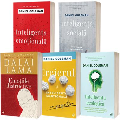 Serie de autor Daniel Goleman, compusa din 5 carti