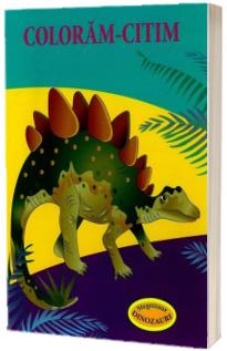 Coloram-citim. Stegozaur. Dinozauri