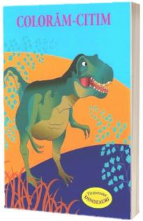 Coloram-citim. Tiranozaur. Dinozauri