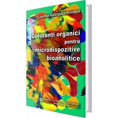 Coloranti organici pentru microdispozitive bioanalitice