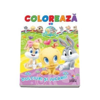 Coloreaza cu Baby Looney Tunes - Dulciuri si jucarii