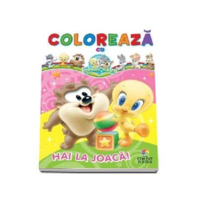 Coloreaza cu Baby Looney Tunes - Hai la joaca!