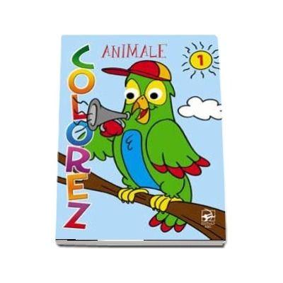 Colorez animale (partea 1) - Ilustratii Jorge Santillan