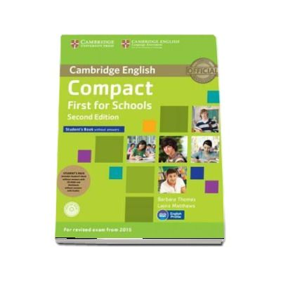 Compact First Student's Book Pack (Student's Book with Answers with CD-ROM and Class Audio CD) - Peter May