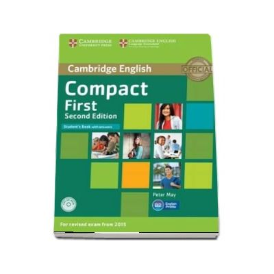 Compact First Student's Book with Answers with CD-ROM - Peter May