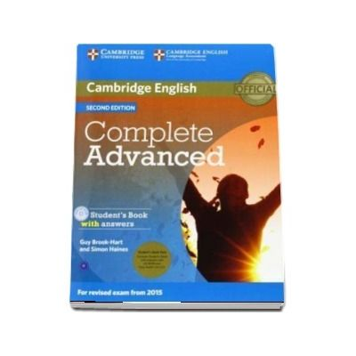 Complete Advanced Student's Book Pack (Student's Book with Answers with CD-ROM and Class Audio CD)