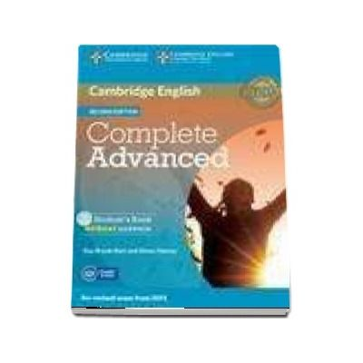 Complete Advanced Student's Book without Answers with CD-ROM - Without Answers