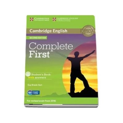 Complete First Student's Book with Answers with CD-ROM - Guy Brook-Hart